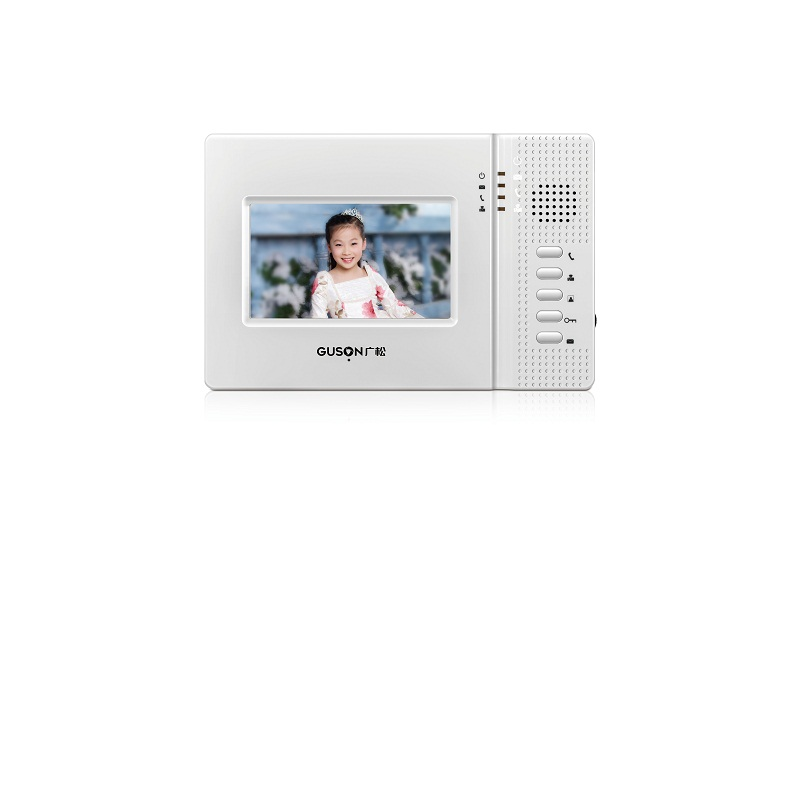 Digital Video 4.3 inch indoor station V41 shell